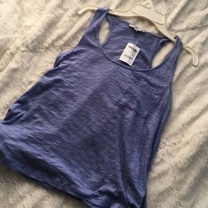 Charlotte russe blue loose tank top brand new